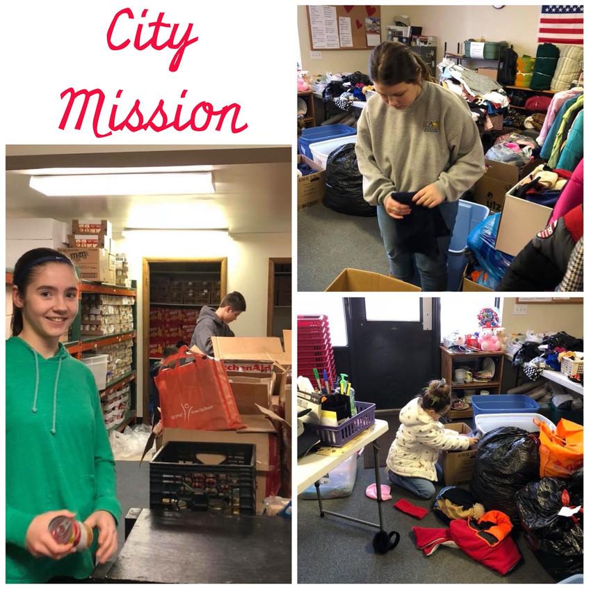 Feb 13 City Mission
