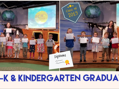 Pre-K & Kindergarten Graduates