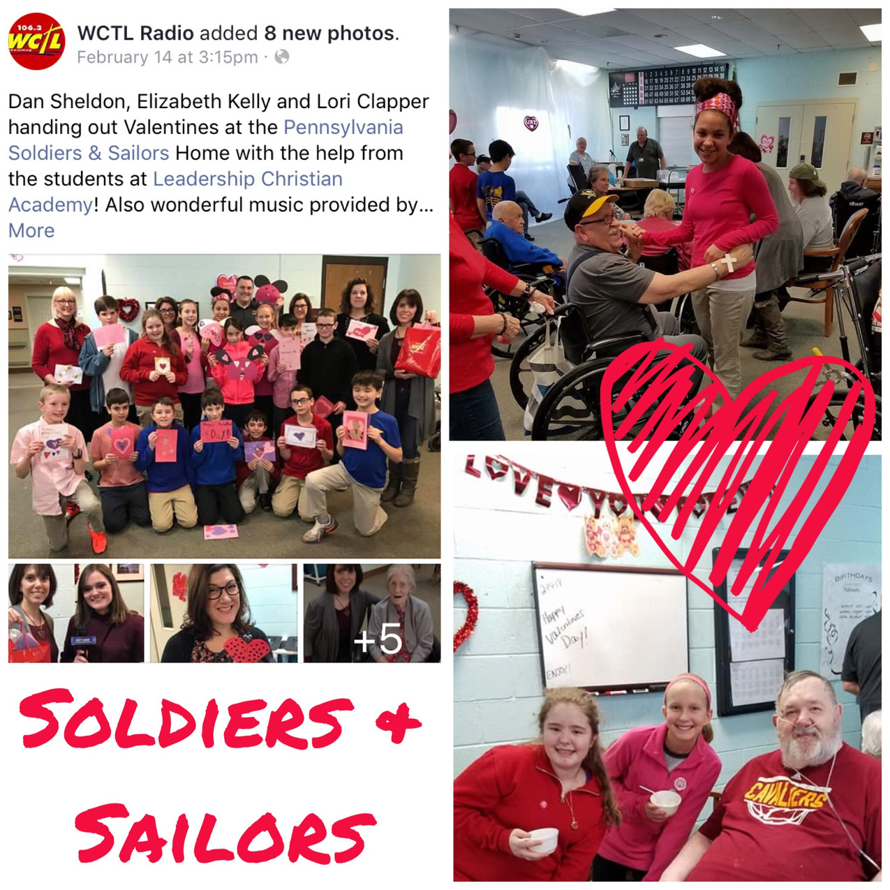 Feb 14 Soldiers and Sailors