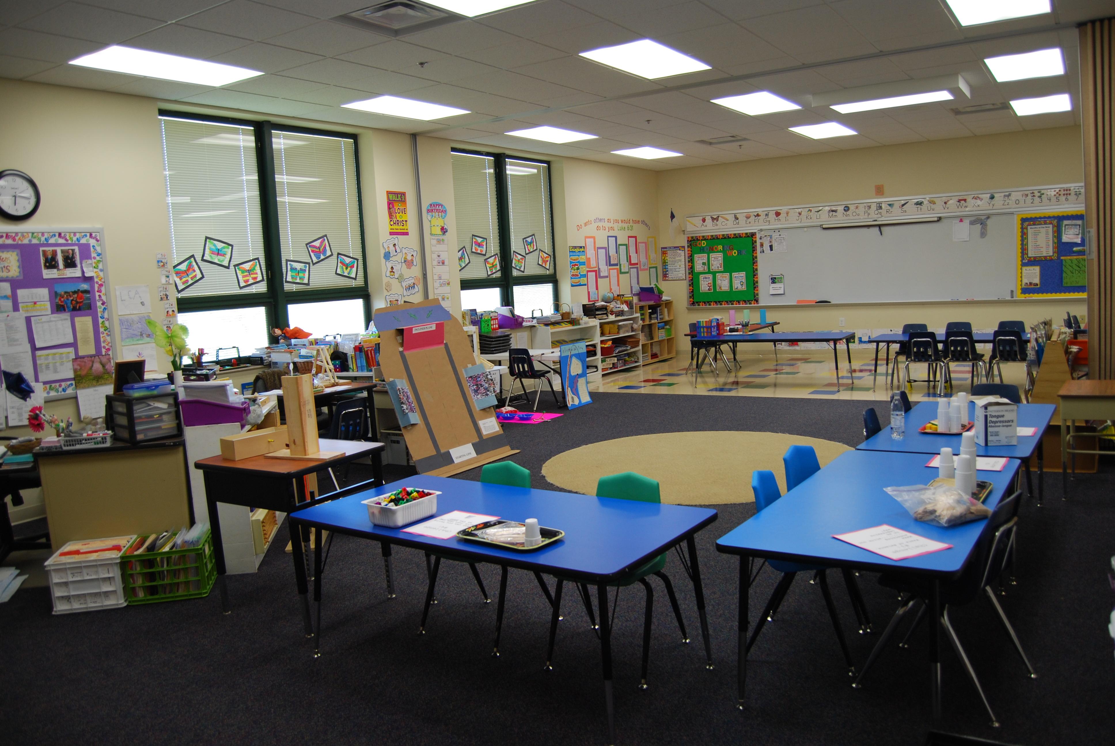 1st & 2nd Grade Workroom