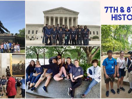 7th & 8th Grade History Trip