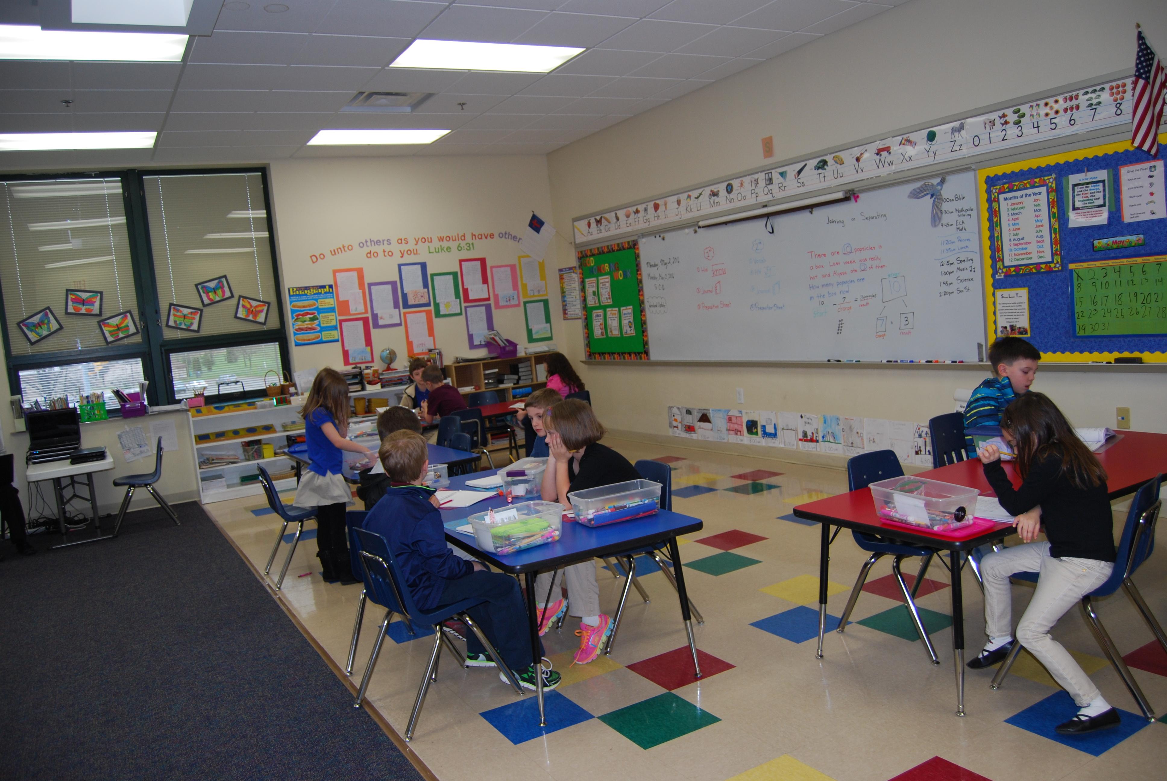 1st & 2nd Grade Classroom