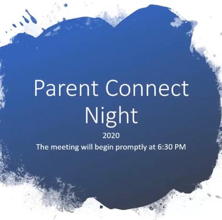 Parent Meeting Tonight