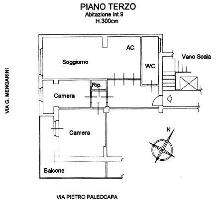 portuense trilocale