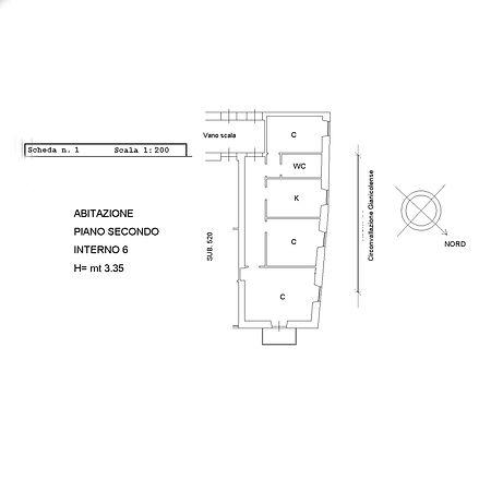 monteverde appartamento tricamere da privato