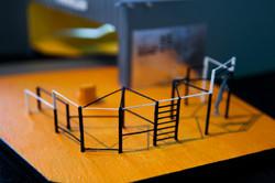exhibition model