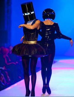 Noa helmets on VATLE catwalk