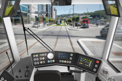 Drivers cab view