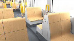 Friendly and light interior seating
