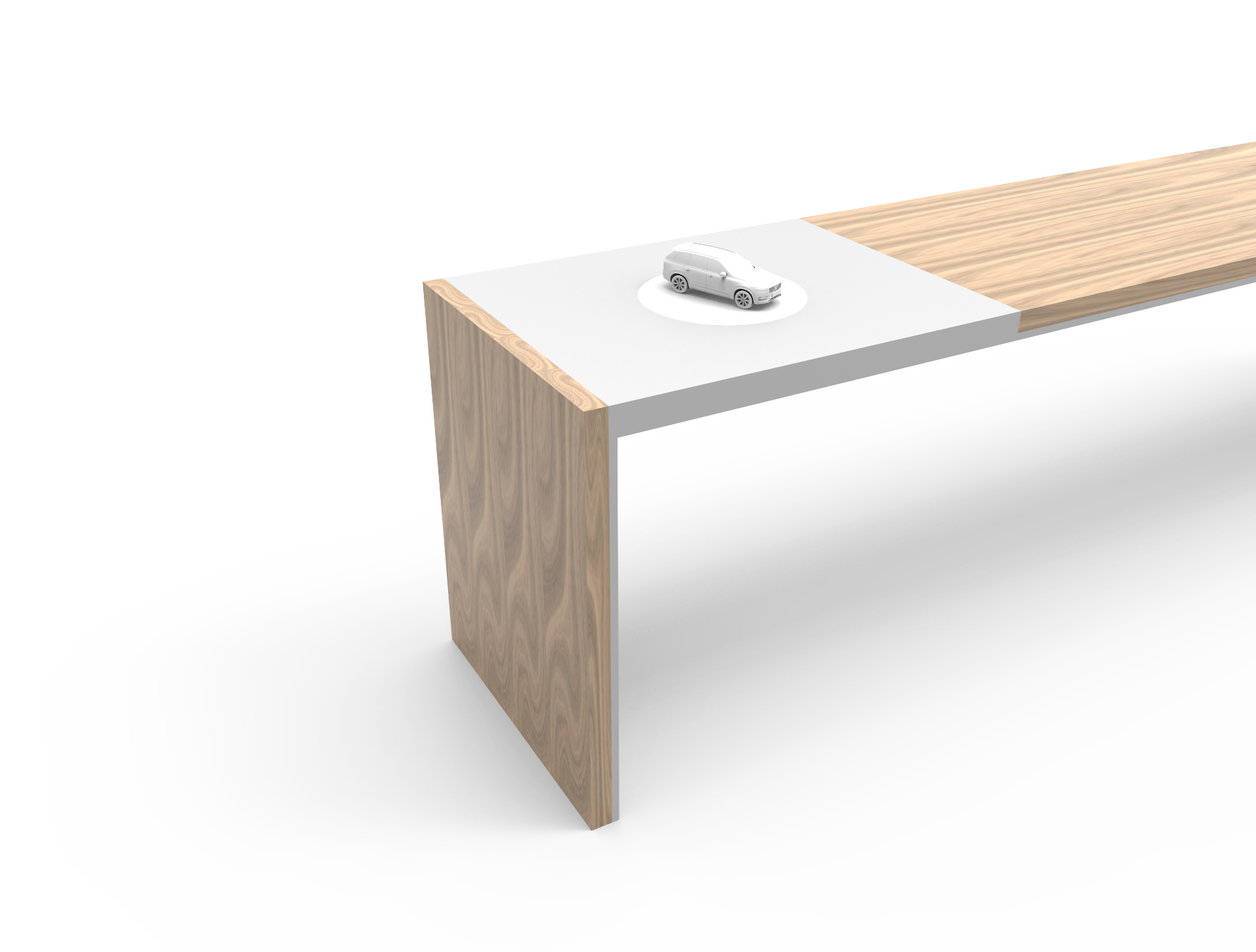 Scale model turn table