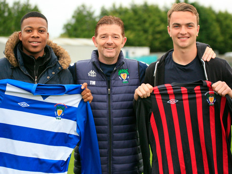 TWO NEW SIGNINGS ARRIVE