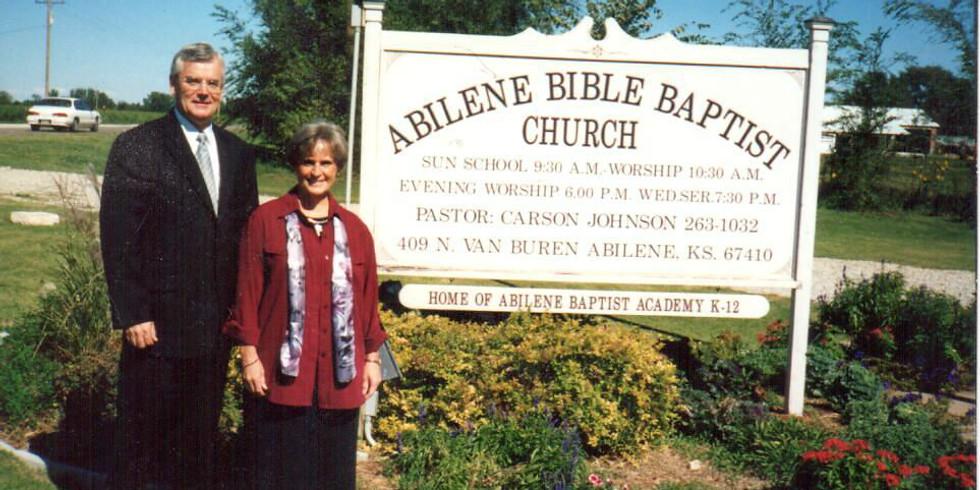 Pastor Retirement Reception