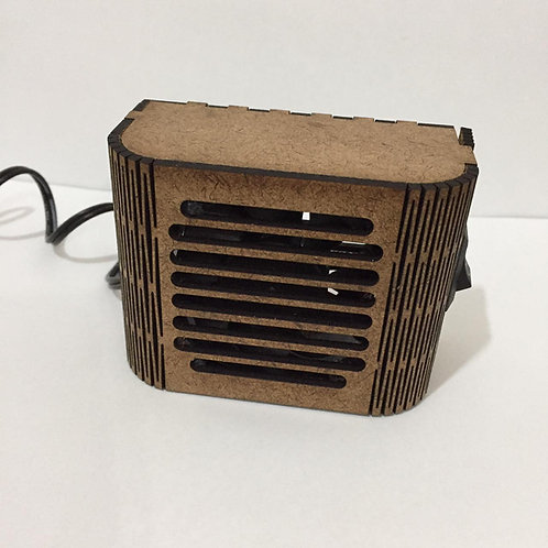 Mini exaustor de fumaça Bi-volt para bancada