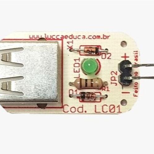 LC-01 Módulo Fonte LuccaEduca