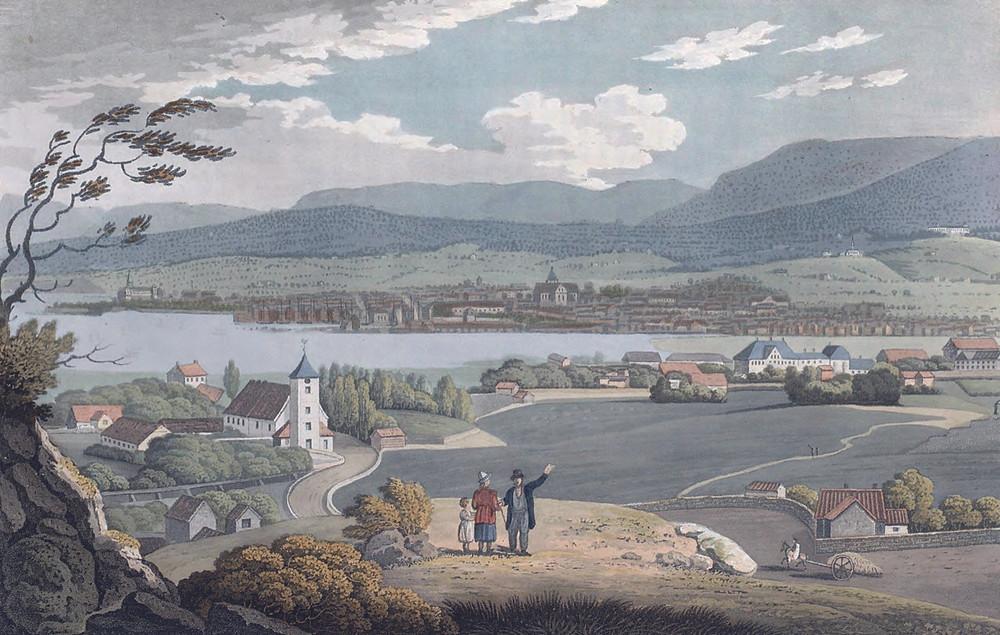 Oslo Hospital ca 1800