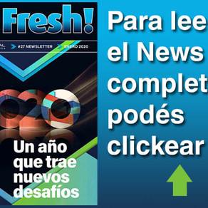 Go Fresh #27: Nuestro Newsletter de Enero