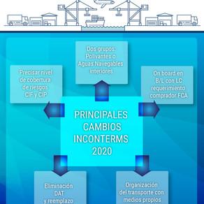 Incoterms 2020: cambios principales