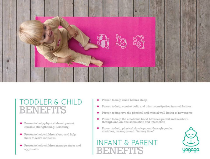 Benefits of Yoga for Toddlers, Children, Infants and Parents