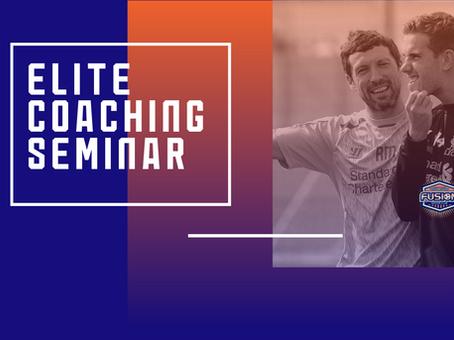 Coaching Seminar - Elite Performance Ryland Morgans