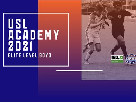 USL Academy League To Launch In Spring 2021