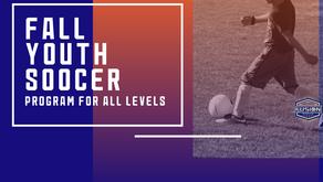 Register For Fall Youth Soccer
