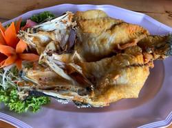 06 ปลากะพงทอดน้ำปลา