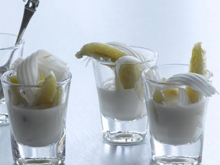 Banana in Coconut Cream