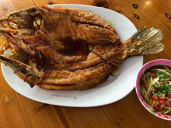 08 ปลากะพงทอดน้ำปลา