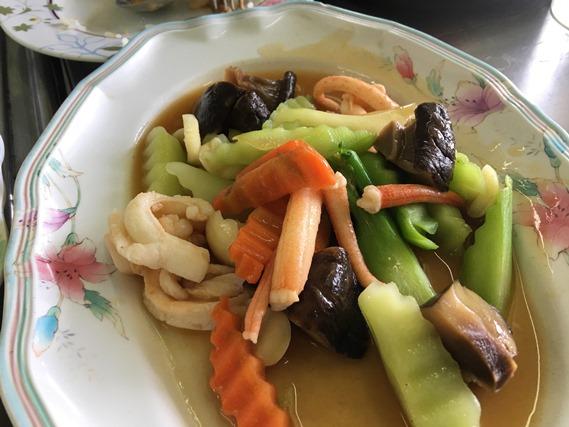 09 ผัดผักก้ามกุ้ง