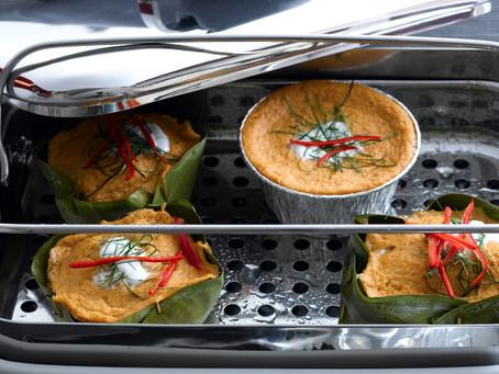 Steamed fish custard (Hor Mok Pla)