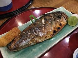 12 ปลาซาบะย่างชิ้นใหญ่มาก