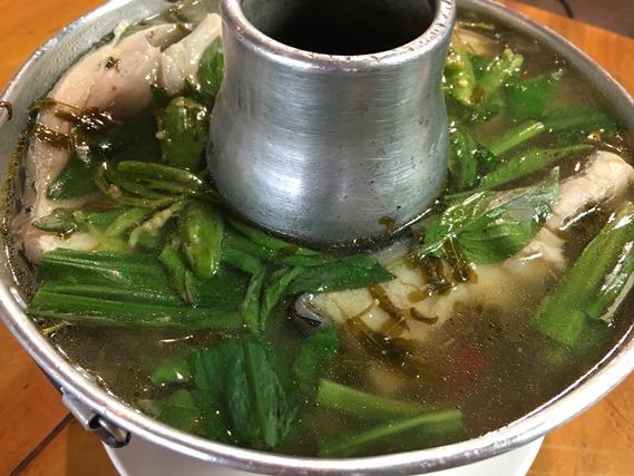 06 ต้มปลานิลใส่ผักแขยง