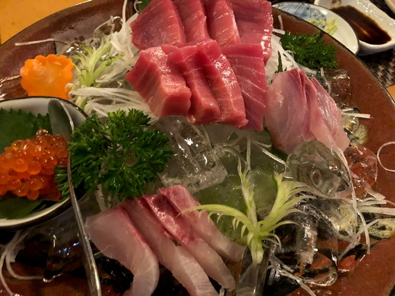15 ชุดซาชิมิรวมปลาชนิดต่างๆ