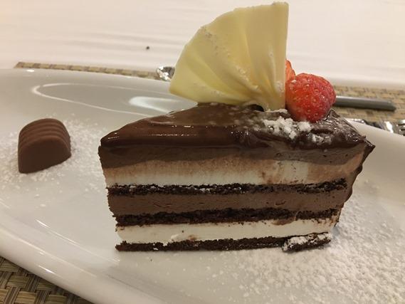 17 ขนมเค้กมูสช็อกโกแลต