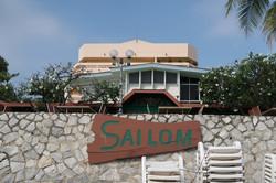 14 ตัวโรงแรมจากด้านหน้าชายหาด