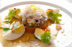 Roasted Thai Eggplant Salad