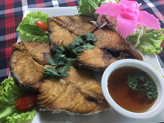 07 ปลาอินทรีย์ทอดน้ำปลา