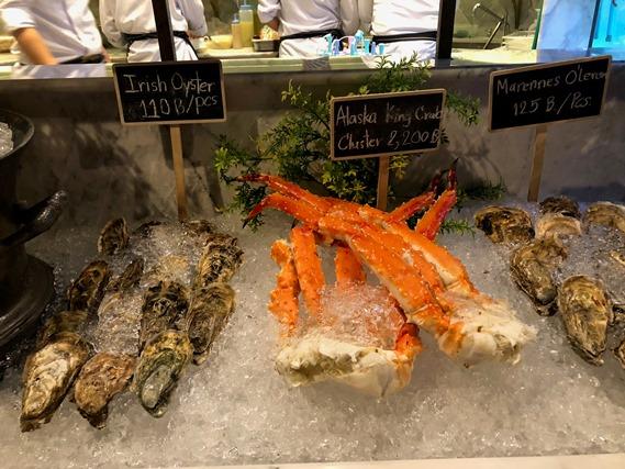 31 โซนตั้งอาหารทะเล