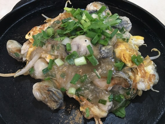 02 ออส่วนหอยนางรมกระทะร้อน (แป้งนุ่ม)