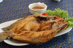04 ปลากะพงทอดน้ำปลา
