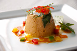 Timbale of Curry Fish Mousse