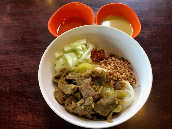 11 ขนมจีนหน้าเนื้อ