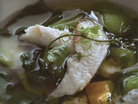 Spicy vegetables soup (Gaeng Liang)