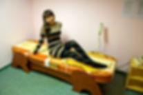 термомассажная кровать