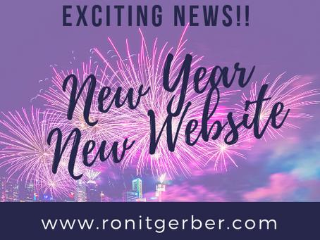 YAY! Hooray! My New Website Is Live!