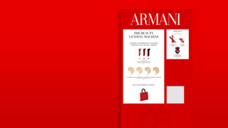 Armani Vending Machine & Design