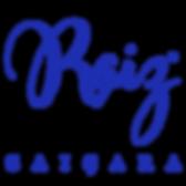 RAIZ CAICARA - logo azul com fundo trans