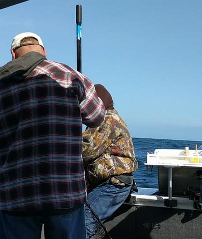 Gotta love taking Dad fishing