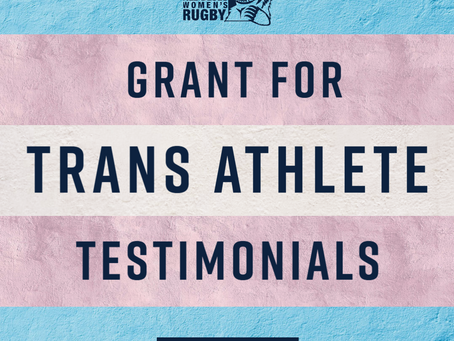 All Blues Grant for Trans Athlete Testimonials