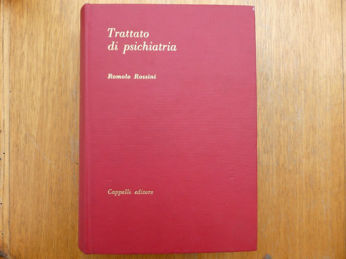 R. Rossini - Trattato di psichiatria - 1975